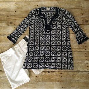 J.Crew cotton tunic S